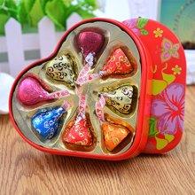 kisses好时之吻巧克力礼盒8粒 好时 三色浪漫创意婚庆喜糖散装成品批发