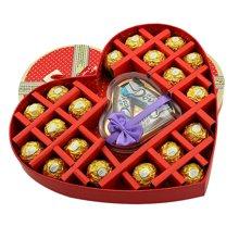 费列罗巧克力礼盒装德芙巧克力礼盒装送女友生日节日礼物费力罗费雷罗德芙巧克力礼盒德费