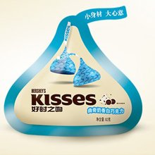 Kisses 好时之吻 曲奇奶香白巧克力82g