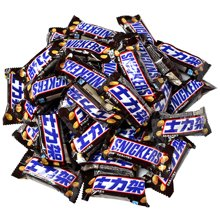 士力架花生夹心巧克力散装800g 花生夹心横扫饥饿喜糖休闲零食