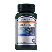 保多康深海鱼油Omega3软胶囊浓缩DHA调节三高提升记忆力改善视力60粒