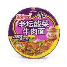 统一来一桶老坛酸菜牛肉面(120g)