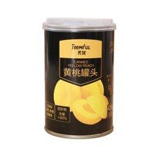 天优糖水黄桃罐头(425g)