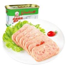食之以恒 长城牌 小白猪火腿猪肉罐头198g*3 午餐肉泡面炒菜旅行必备
