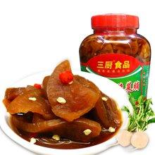 三厨 爽脆菜脯900g/瓶 海南萝卜干 腌榨菜酱脆萝卜 下饭菜