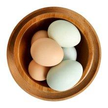 鲜动生活 安徽阜阳农家土鸡蛋乌鸡蛋30枚(农家五谷散养土鸡蛋15枚 纯正乌鸡蛋15枚)40g/枚
