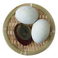 鲜动生活 松花蛋 无铅 旭日60g*20枚散装鸭皮蛋农家变蛋