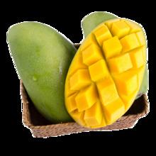 花果山 越南进口青皮芒果5斤装 青皮就能吃的芒果
