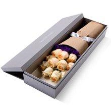恰似你的温柔----玫瑰礼盒鲜花同城配送情人节纪念日生日礼物送爱人女友[花礼鲜花]