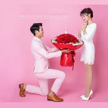 LOVE 99----99枝红玫瑰花束[花礼鲜花]