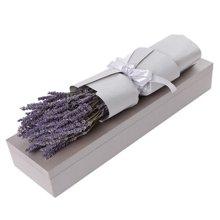 触摸----薰衣草礼盒:进口薰衣草永生花情人节纪念日生日礼物送女友朋友[花礼鲜花]