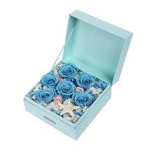 深海秘境----永生花礼盒送爱人送女友礼物[花礼鲜花]