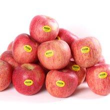 青怡苹果80mm果 陕西洛川苹果红富士6个礼盒装 新鲜水果顺丰包邮