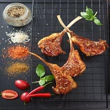 内蒙古特产生鲜羊肉法式小羊排 清蒸羊排 法式小羊排2斤草原羔羊肉 生煎烧烤食材--别的羊
