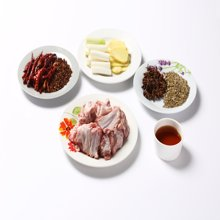 别的羊 内蒙古草原羔羊肉 羊排切块3斤 新鲜生鲜烧烤烤串食材有机清真肋排