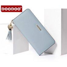 DOODOO 新款钱包韩版长款女式手拿小包皮夹 6901