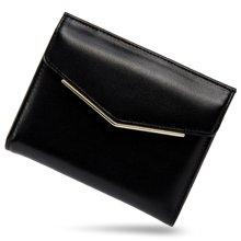 古思奇女士钱包时尚欧美短款钱包牛皮钱包钱夹2267