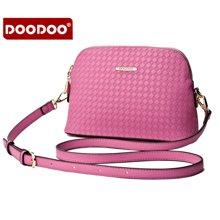 DOODOO 新款斜挎单肩小包包简约软斜跨贝壳包5160