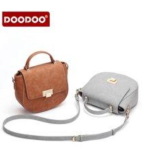 DOODOO 新款女包韩版时尚手提斜挎小猪包包6212