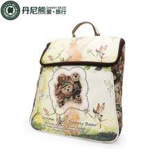 ANNY BEAR丹尼熊绿精灵熊系列女式双肩包DBTS5905005-032-绿配米白