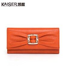 Kaiser凯撒 时尚女式钱包 女士银包(9139404017)橙色