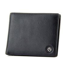 GOLDLION/金利来男士钱包横款短皮夹票夹商务休闲牛皮薄款GA71605029-311