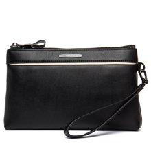 丹爵  新款头层牛皮男士手拿包休闲手包时尚款型包包 D8098