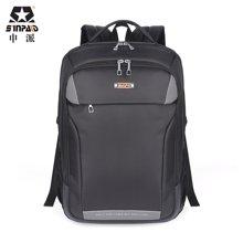 申派商务电脑包双肩背包男笔记本电脑包15.6寸14寸出差旅行包书包SP-320