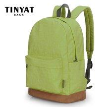 天逸TINYAT电脑包男女潮书包笔记本双肩包休闲包韩版旅行运动电脑包1001