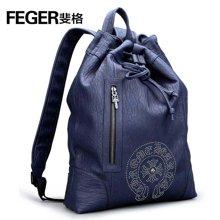 斐格男士休闲双肩包大容量旅行包时尚背包9004