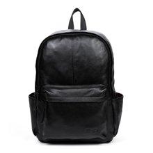 丹爵新款头层牛皮男士双肩包时尚男包时尚旅行背包D8077