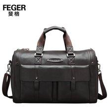 斐格男包大容量牛皮手提包商务旅行包出差行李包单肩短途旅行1500