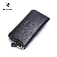 啄木鸟 Plover男士拉链式长款钱包 竖款商务休闲手抓包手包 P15301M004