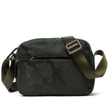 丹爵新款潮流迷彩男士布包男士休闲横款包单肩休闲男包8090-2