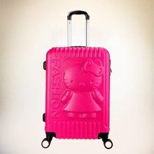 Global Freeman全球自由人 韩版时尚潮流卡通压花拉杆箱ABS万向轮行李箱DM001