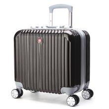 WENGER NOBLR17寸PC+ABS铝框旅行箱行李箱-(5532)