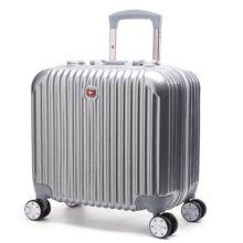 WENGER NOBLR 万向轮拉杆箱 PC+ABS铝框旅行箱行李箱电脑箱17寸(5532)