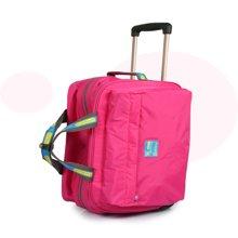 狼域新款超轻时尚防水拉杆袋旅行袋登机袋