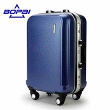 博牌  铝框拉杆箱万向轮旅游旅行箱包24寸硬箱子密码箱20行李箱拉杆33-00120