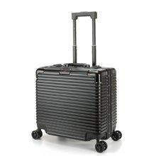 WEMGE SABRE 铝框ABS+PC时尚休闲拉杆箱 质感旅行箱登机箱17寸(W-5547)