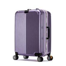 丹爵新款时尚登机箱拉杆箱20/24寸万向轮箱子ABS+PC密码箱拉杆箱D27