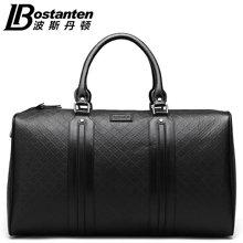 商务旅行包真皮手提包男士头层牛皮行李包大容量单肩斜挎包登机包