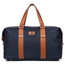 丹爵 时尚牛津布单肩斜跨手提包大容量旅行包旅行袋8072-1