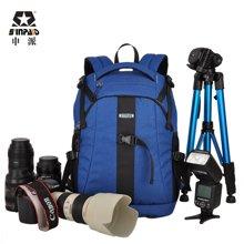 申派摄影包双肩包专业防盗佳能尼康单反数码相机包大容量旅行背包SY-014