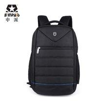 申派男士双肩背包电脑包商务出差旅行包14/15.6寸笔记本包BM-320
