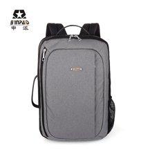 申派商务手提电脑背包男士休闲旅行包多功能行李包女韩版潮大书包BM-523