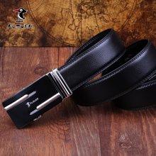 啄木鸟 PLOVER 黑色 牛皮自动扣 皮带 男士 商务休闲款 腰带    ZMN-5360