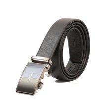Pierre Cardin/皮尔卡丹 黑色男士商务时尚牛皮自动扣皮带 CEA815120ZYA(38MM)