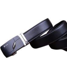 PLOVER 啄木鸟 牛皮自动扣 皮带 男士 商务休闲款 黑色 时尚腰带   ZMN-5359