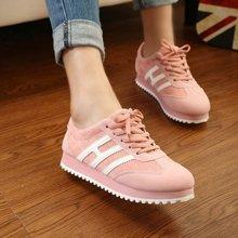 极有家新款韩版休闲运动鞋女学生跑步鞋平底女鞋单鞋女潮16020030